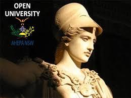 Δέκα χρόνια «Ελληνικό Ανοικτό Πανεπιστήμιο» στο Σίδνεϊ, υπό την αιγίδα του Κέντρου Ελληνικής Λογοτεχνίας και Ποίησης «Κωστής Παλαμάς» της ΑΧΕΠΑ Ν.Ν. Ουαλίας.