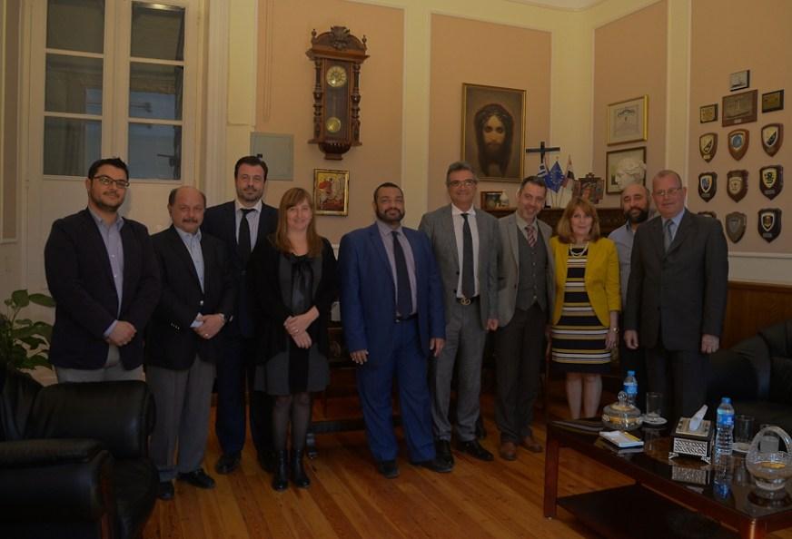 Παρουσία του Αν. Γενικού Διευθυντή της ΓΓ Αποδήμου Ελληνισμού Δημήτρη Πλευράκη και του ειδ. γραμ. Επικοινωνιακού Σχεδιασμού Μεταναστευτικής και Προσφυγικής Πολιτικής Γ. Φλωρεντή, οι εκδηλώσεις στην Αλεξάνδρεια για την 25η Μαρτίου.