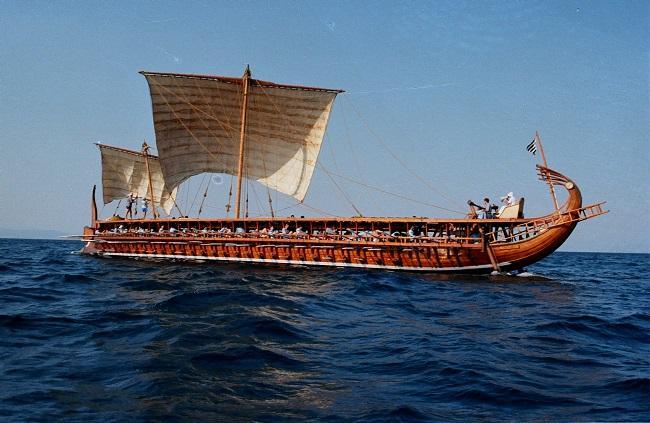 Ομοίωμα της τριήρους «Ολυμπιάς» θα εκτεθεί στο Αυστραλιανό Εθνικό Ναυτικό Μουσείο Σίδνεϊ, επ' ευκαιρία των εορτασμών για την 25η Μαρτίου.