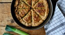Πρασόπιτα – Prassopita – Leek pie