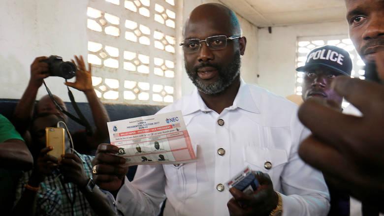Ζορζ Γουεά, νέος Πρόεδρος της Λιβερίας