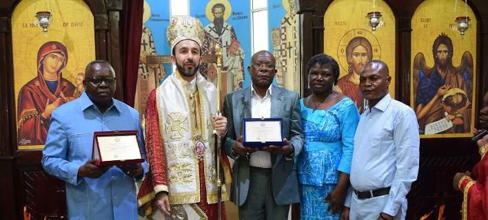 Σε κλίμα κατάνυξης τα εγκαίνια της Αγίας Φωτεινής στο Κονγκό -Οι χριστιανοί ορθόδοξοι της Αφρικής