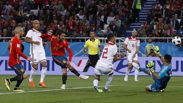 Με γκολ στο 91′ η Ισπανία, 2-2 με το Μαρόκο