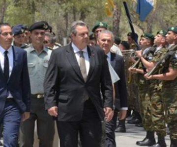 Καμμένος: Η Τουρκία συνεχίζει να παραβιάζει το διεθνές δίκαιο, να δολοφονεί και να συλλαμβάνει