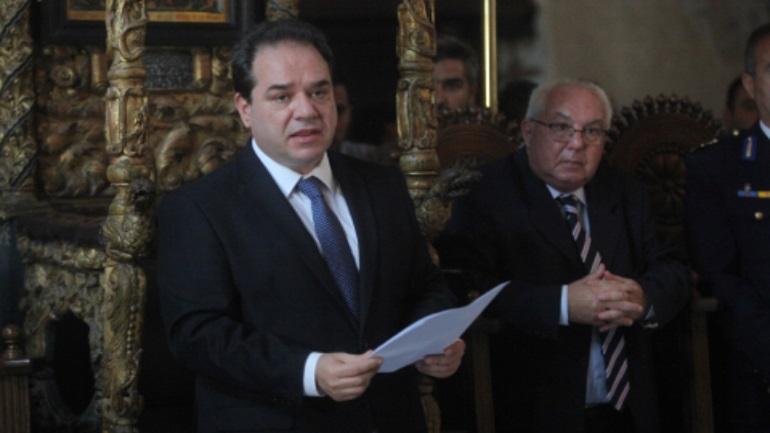 Πραγματοποιήθηκε η τελετή εγκατάστασης του νέου πολιτικού διοικητή του Αγίου Όρους
