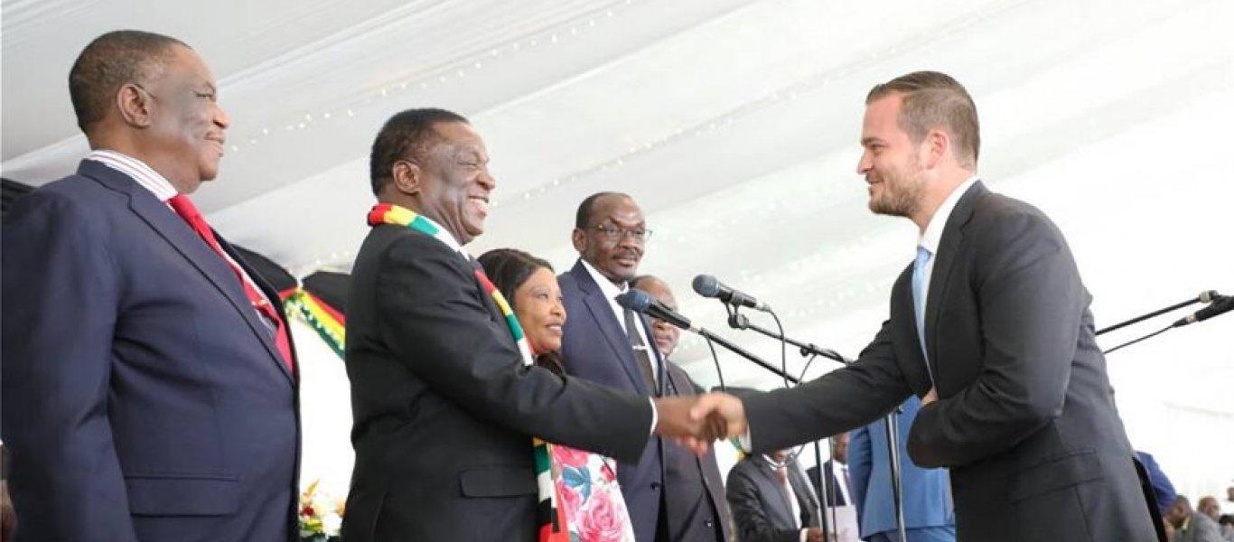 Έλληνας υπουργός στην κυβέρνηση της Ζιμπάμπουε: Ποιος είναι ο Βαγγέλης Χαριτάτος