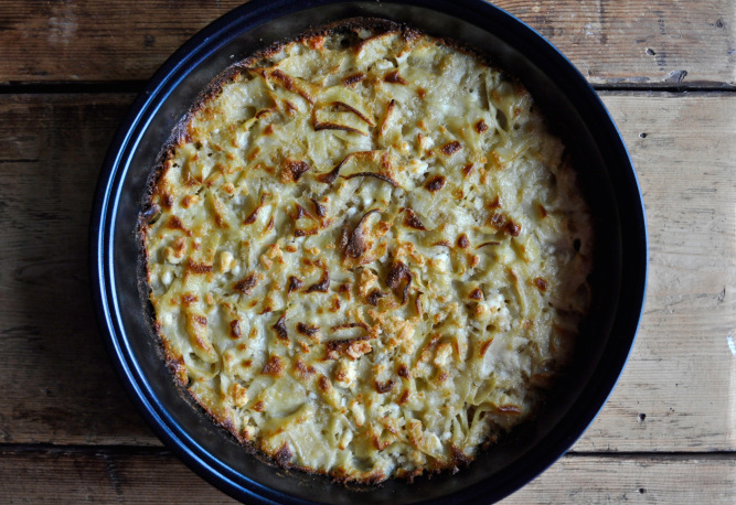 Κοζανίτικη τραχανόπιτα – Trahanas pie
