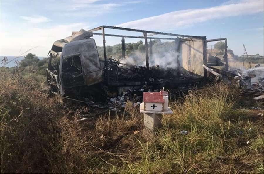 Καβάλα: 11 μετανάστες απανθρακώθηκαν μετά από σύγκρουση ΙΧ με φορτηγό