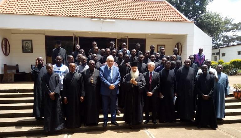 Ο ΥΦΥΠΕΞ Τέρενς Κουίκ στην Κένυα
