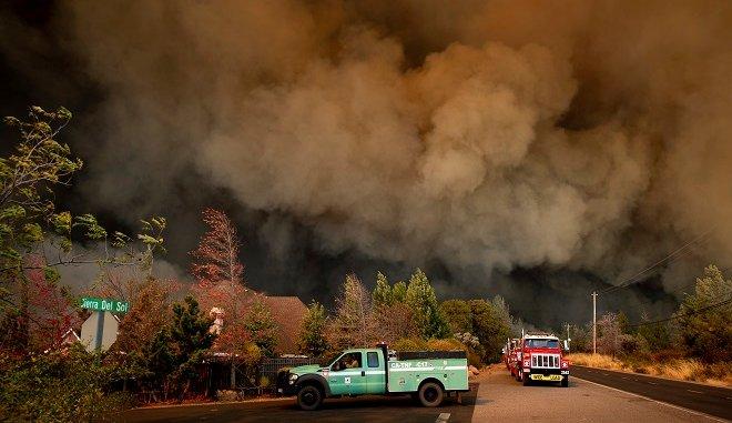 Φωτιά στην Καλιφόρνια: Στους 31 οι νεκροί – Αγνοούνται 228 άνθρωποι
