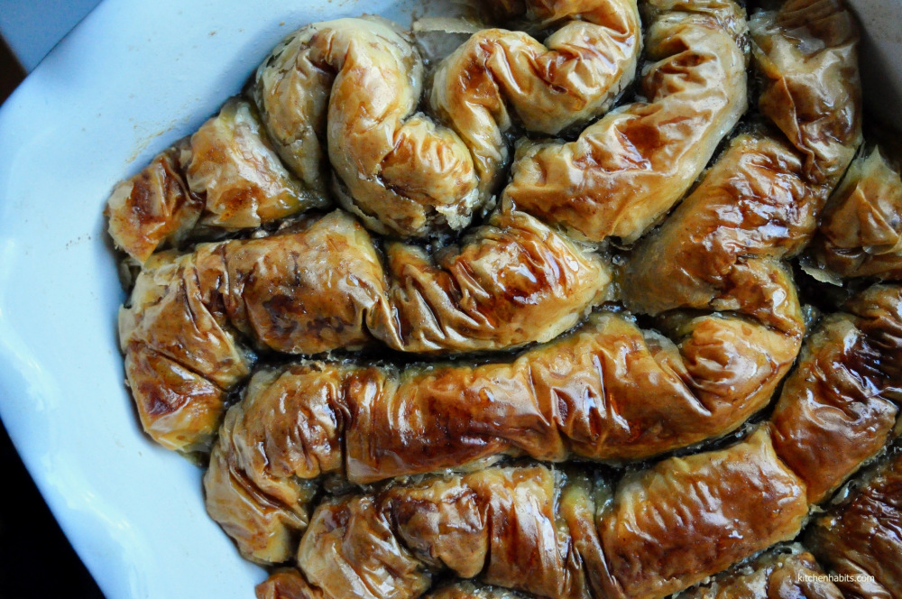 Σαραγλί – Saragli / Greek rolled baklava