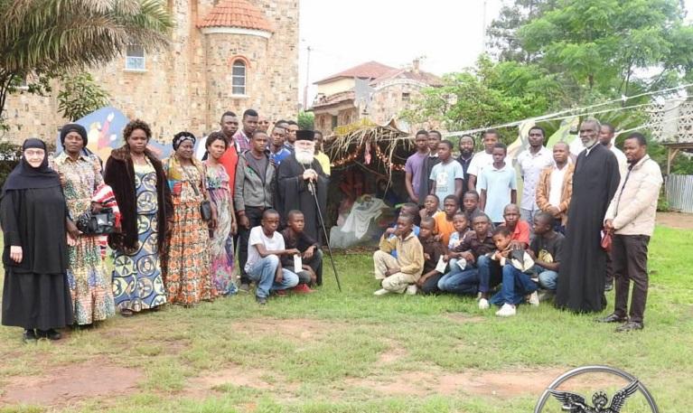 Εορτή των Χριστουγέννων στην Κεντρική Αφρική