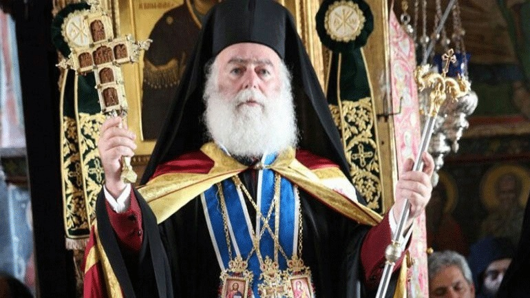 Ευχές του Πατριάρχη Αλεξανδρείας για το νέο έτος