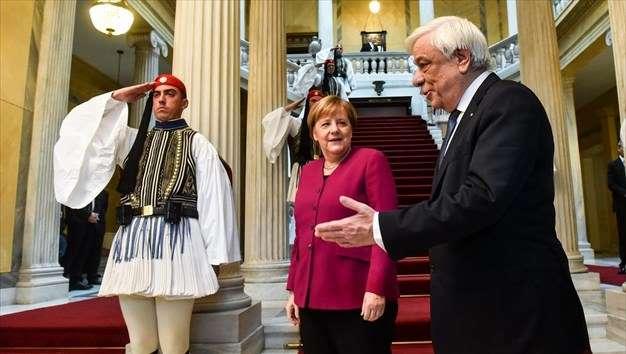 ΠτΔ προς Μέρκελ: Στηρίζοντας την Ελλάδα στηρίξατε τη συνοχή της Ε.Ε.