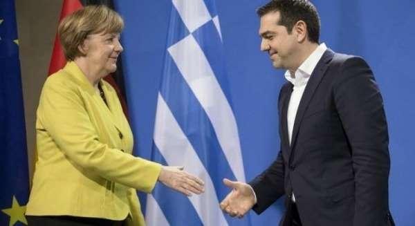 Διπλό μήνυμα Μέρκελ για Σκοπιανό και ελληνική οικονομία
