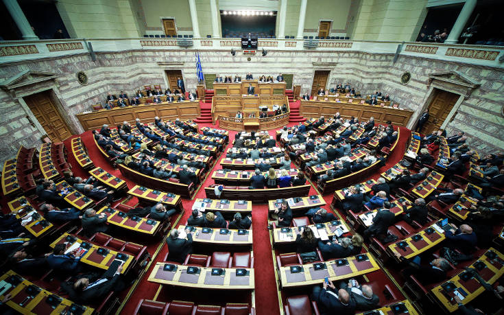 Πέρασε η Συμφωνία των Πρεσπών από την ελληνική Βουλή με 153 «ναι»