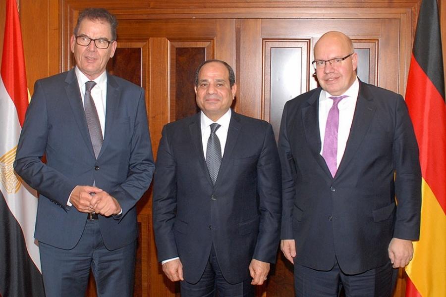Στενότερες οι σχέσεις Αιγύπτου- Γερμανίας