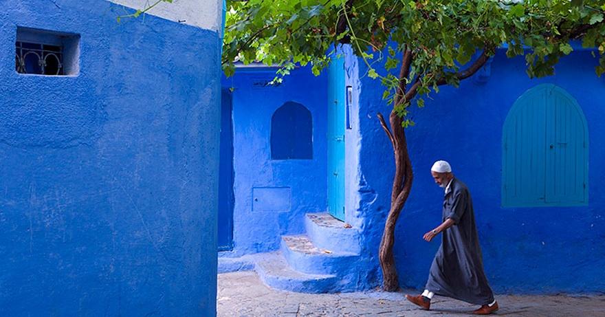 Εσείς γνωρίζετε ποια είναι η μπλε πόλη?