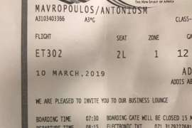 Τι είπε ο Έλληνας που έχασε για δύο λεπτά τη μοιραία πτήση της Ethiopian Airlines