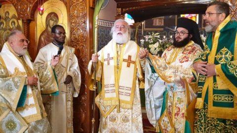 Με Πατριαρχική μεγαλοπρέπεια εορτάστηκε η Κυριακή των Βαΐων στο Κάιρο