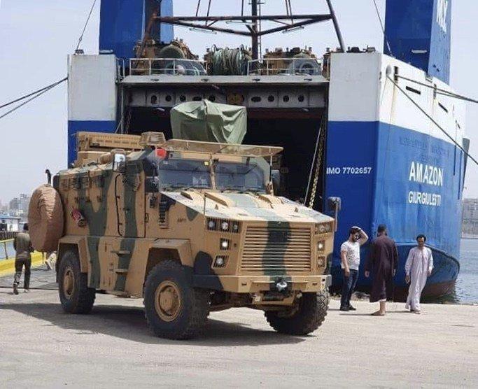 Η Τουρκία σπάει το εμπάργκο πώλησης όπλων στην Λιβύη – πούλησε οχήματα MRAP Kirpi