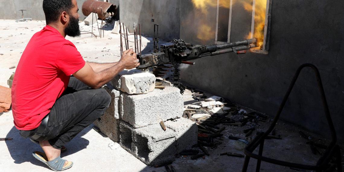 Λιβύη: Κατάπαυση του πυρός ζήτησε ο Κόντε στο τετ-α-τετ με τον Χάφταρ