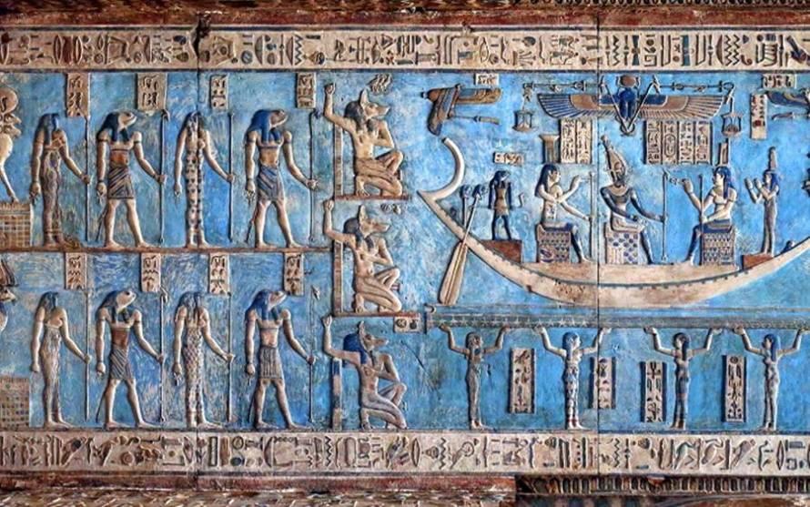 Αριστουργήματα 4.200 ετών σε ναό στην Αίγυπτο!