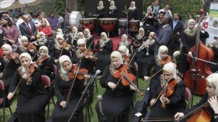 Πρώτη ορχήστρα τυφλών γυναικών στον κόσμο