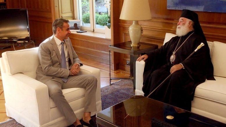 Αλεξανδρείας: »Ο Πρωθυπουργός θέλει να δει τον Ελληνισμό της Αιγύπτου»