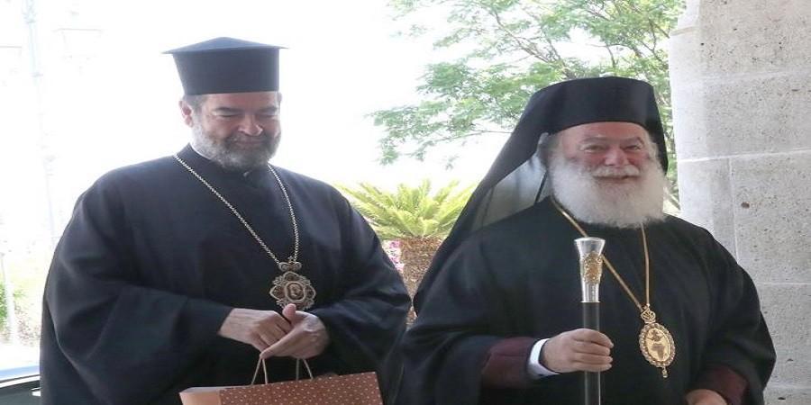 Συνάντηση Προέδρου Βουλής με Πατριάρχη Αλεξανδρείας