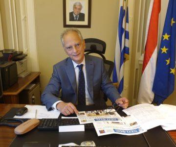 Αποκλειστική συνέντευξη με τον Ν. Γαριλίδη, Πρέσβη της Ελλάδος στο Κάιρο: «Υπάρχει τάξη και ασφάλεια στην Αίγυπτο»