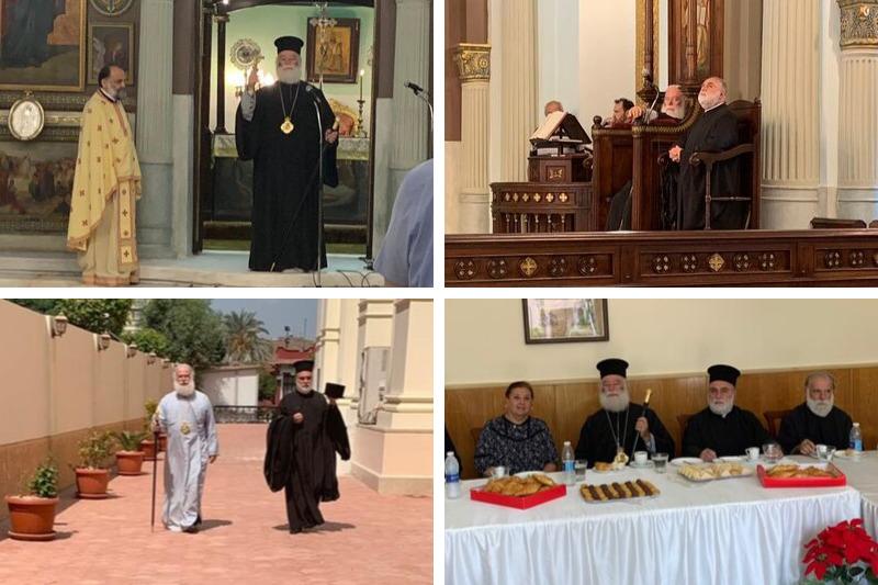Ο Πατριάρχης Θεόδωρος για την αποκατάσταση του Ι.Ν Αγ. Κωνσταντίνου & Ελένης: «… Η Ελληνική Κοινότητα Καΐρου έφτασε στο τέλειο»