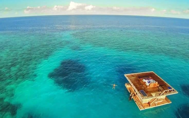 Ένας πλωτός παράδεισος στα νερά του Ινδικού Ωκεανού