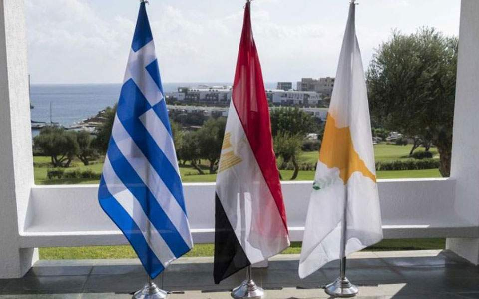 Αίγυπτος: «Η ενίσχυση της συνεργασίας στόχος της τριμερούς με Ελλάδα και Κύπρο»
