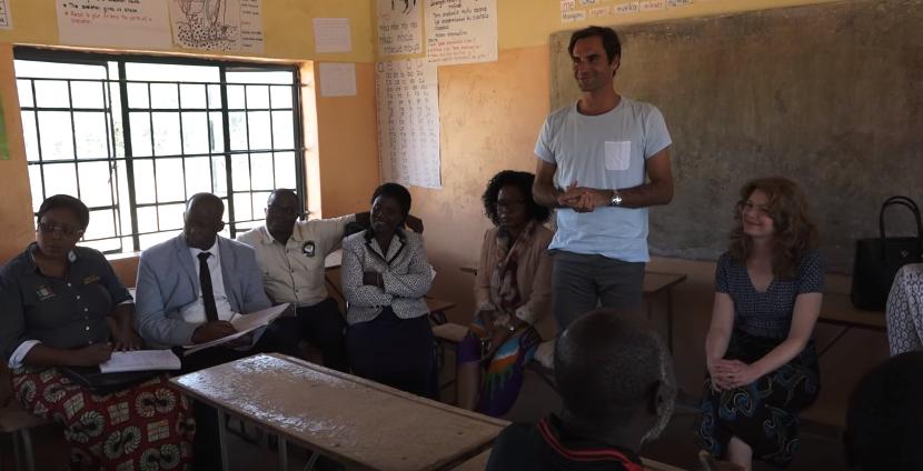 Ρότζερ Φέντερερ. Επενδύει την περιουσία του στην εκπαίδευση των έξι πιο φτωχών χωρών της Αφρικής
