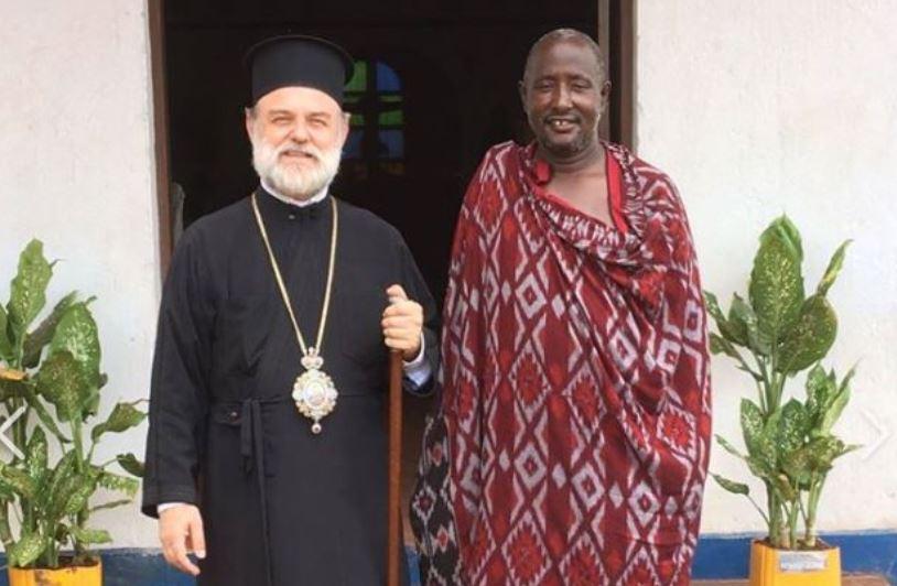 Ο πρώτος υποψήφιος κληρικός από την φυλή των Μασάι