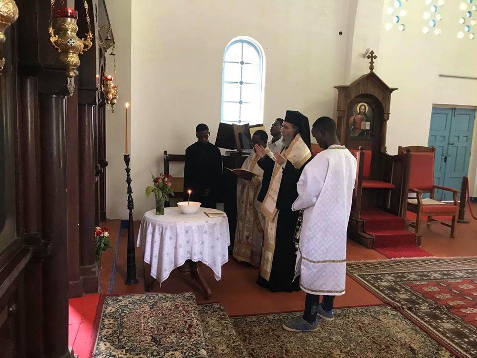 Μνημόσυνο για τον Γέροντα Εφραίμ στην Τανζανία
