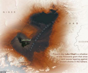 Η αρχαία λίμνη της Αφρικής που «πότισε» τα δάση του Αμαζονίου