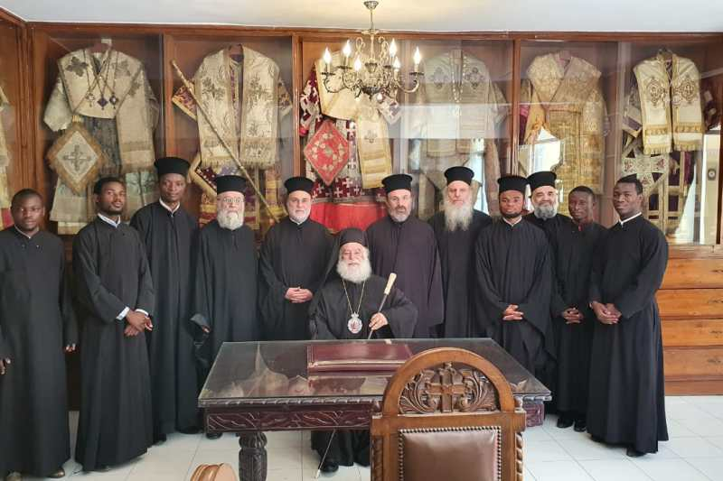 O Πατριάρχης Θεόδωρος εγκαινίασε το μουσείο της Ι.Μ του Αγ. Σάββα – Μνημόσυνο για τα τρία χρόνια από το θάνατο της μητέρας του Κλεοπάτρας