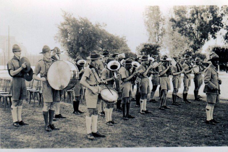 Πασχαλινές αναμνήσεις από την μπάντα των προσκόπων του Καΐρου