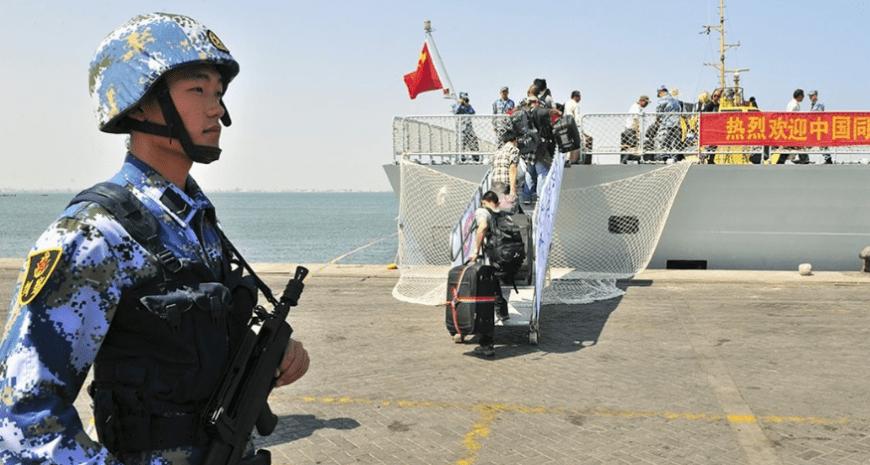 Τζιμπουτί – Οι Κινέζοι κατασκεύασαν Ναυτική βάση «Σινικό Τείχος»