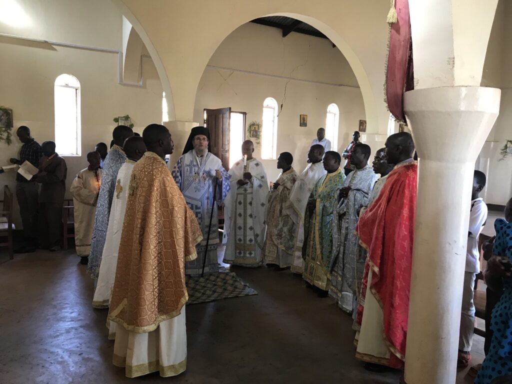 Θεία Λειτουργία στην Μπουκόμπα της Τανζανίας
