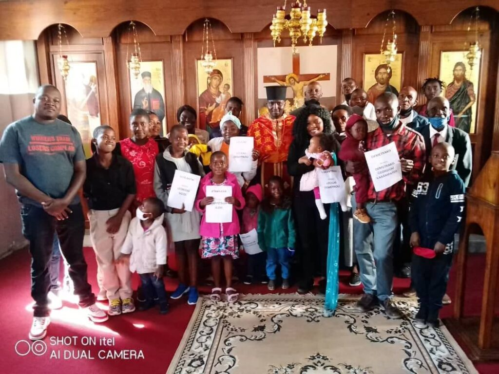 Νεοφώτιστοι στην Ζιμπάμπουε