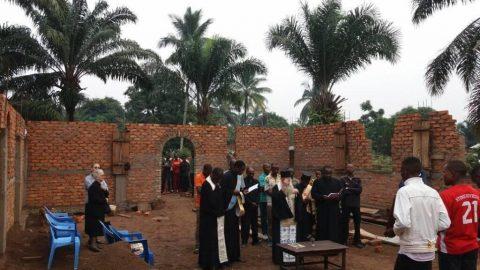 Στον ναό του Αγίου Παϊσίου στην καρδιά της Αφρικής