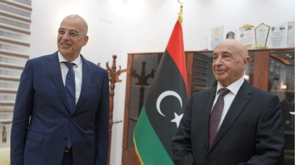 Το μυστικό της ξαφνικής επίσκεψης Δένδια στη Λιβύη