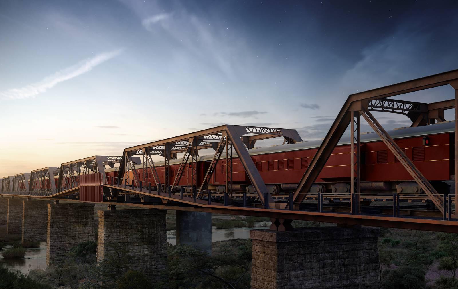 Ένα απίθανο τρένο ξενοδοχείο ανοίγει στη Νότια Αφρική