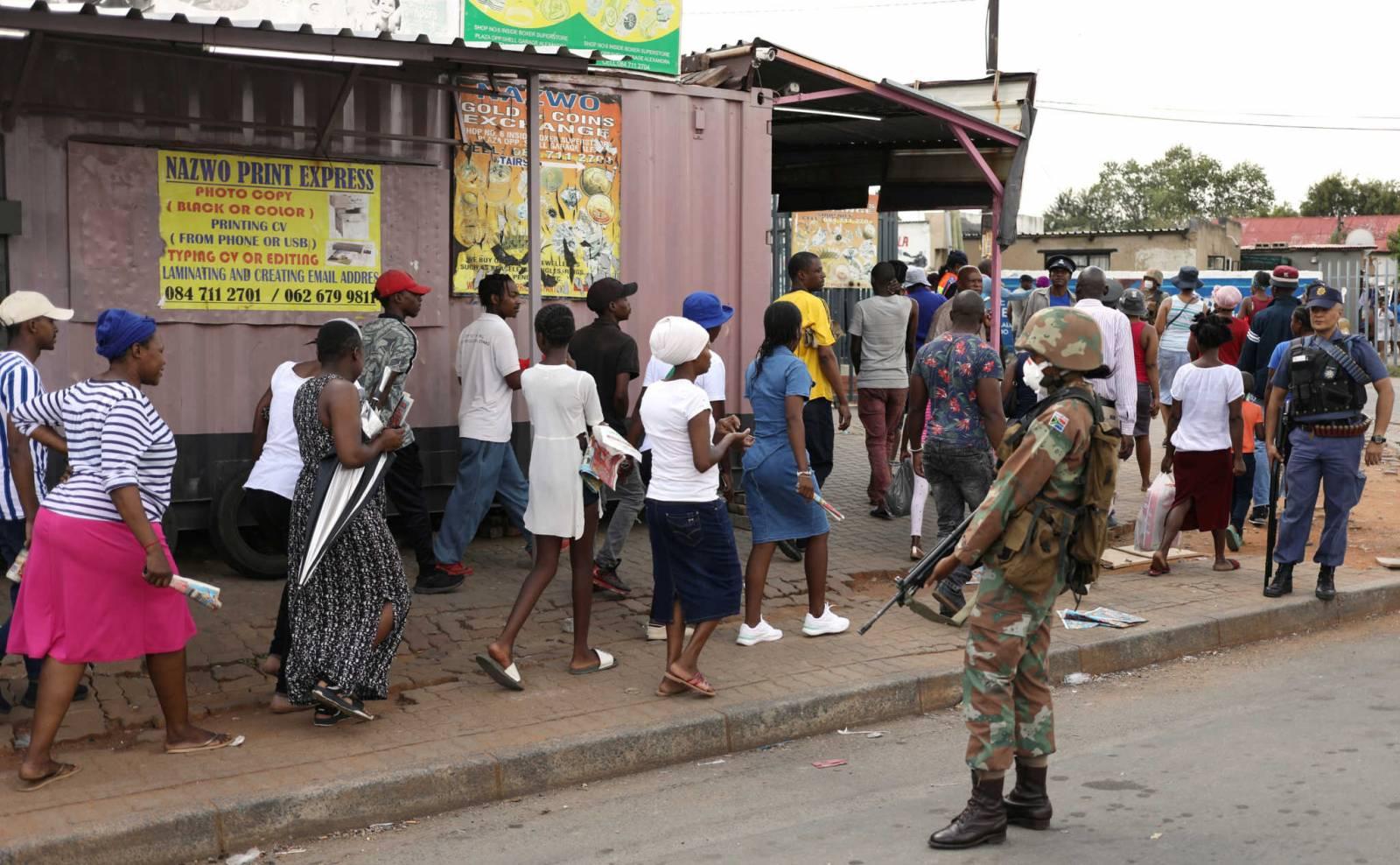 Νότια Αφρική: Πάνω από 13.000 κρούσματα σε μια μέρα