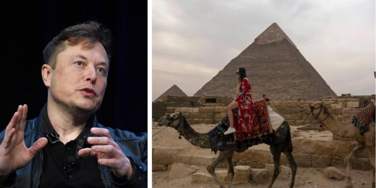 Η Αίγυπτος καλεί τον Ελον Μασκ να διαπιστώσει ότι δεν έχτισαν… εξωγήινοι τις πυραμίδες