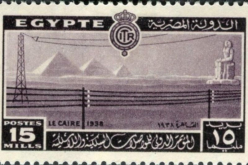 H τηλεφωνία στην Αίγυπτο και η πρώτη τηλεφωνική σύνδεση με την Ελλάδα