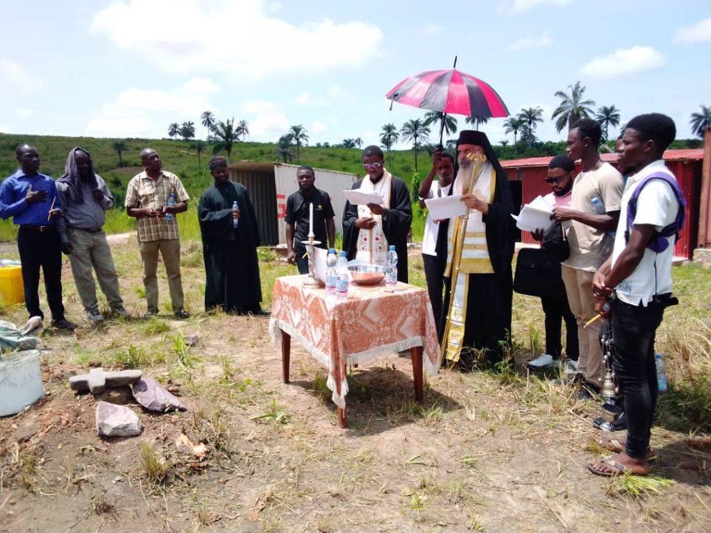 Μονή της Παναγίας Παραμυθίας ανεγείρεται στην Αφρική
